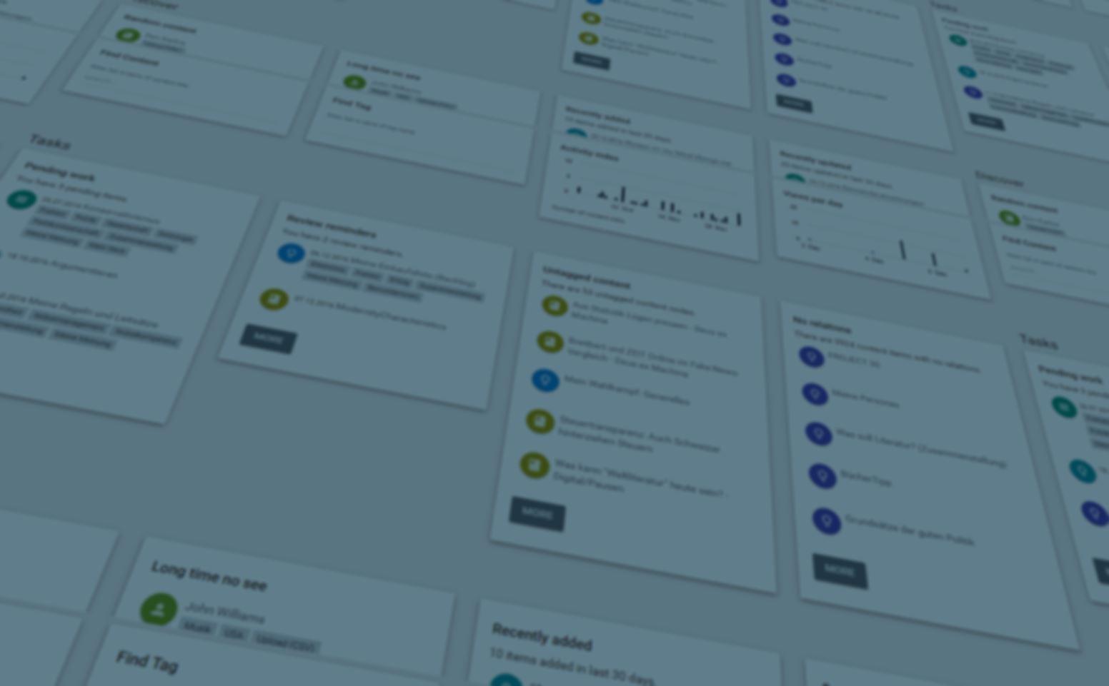 Raisin Picker   Knowledge management with Drupal 8 x